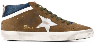 Golden Goose Distressed-Finish Low-Top Sneakers