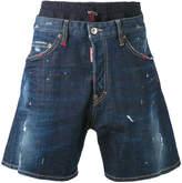 DSQUARED2 elasticated waistband denim shorts