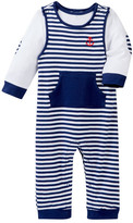 Little Me Anchor Overall Set (Baby Boys)