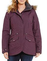 Columbia Grandeur Peak Waterproof Faux-Fur Hood Jacket