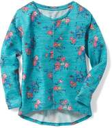 Old Navy Relaxed Sweater-Knit Top for Girls