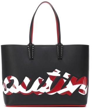 Christian Louboutin Cabata logo leather tote