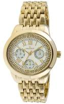 Peugeot Women's 7089G Analog Display Japanese Quartz Gold Watch