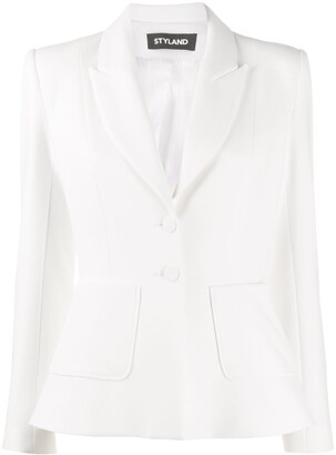 Styland Fitted Single-Breasted Blazer