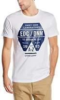 Esprit Men's Multicol AW Short Sleeve T-Shirt, (101)