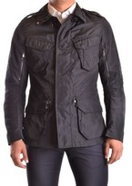 Ralph Lauren Men's Black Synthetic Fibers Outerwear Jacket.