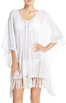 Tommy Bahama Linen Blend Cover-Up Poncho