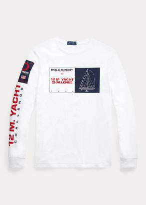 Ralph Lauren Custom Slim Graphic T-Shirt