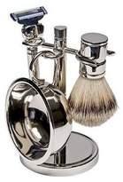 Harry D. Koenig & Co 4 Piece Shave Set In Silver for Men