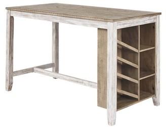 Lomeli Solid Wood Dining Table Winston Porter