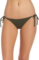 Becca Women's Color Code Side Tie Bikini Bottoms
