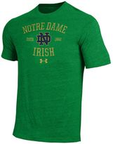 Under Armour Men's Notre Dame Fighting Irish Triblend Tee