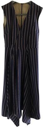 Mulberry Navy Silk Dress for Women