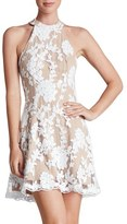 Dress the Population 'Abbie' Sequin Fit & Flare Dress
