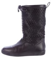 Christian Louboutin Naza Spiked Snow Boots