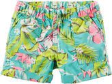 Carter's Tropical Print Shorts - Preschool Girls 4-7