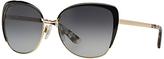 Dolce & Gabbana DG2143 Sunglasses, Gold/Black