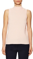M Missoni Cotton Sleeveless Turtleneck Top