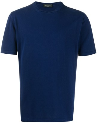 Roberto Collina short-sleeve fitted T-shirt