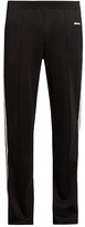 Givenchy Side-stripe straight-leg track pants