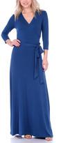 Brooke & Emma Women's Maxi Dresses Teal - Teal Maxi Dress - Women