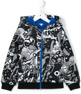Little Marc Jacobs graphic print hoodie