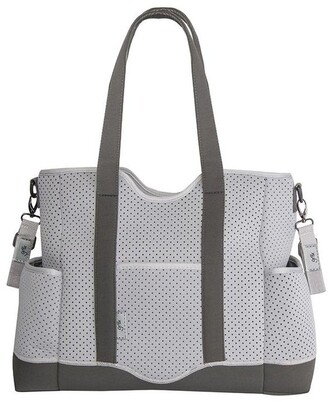 Gr8x Lulu Neoprene Napy Bag Tote Grey