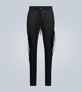 Amiri Cargo sweatpants with straps