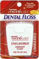 Harmon Face ValuesTM 100 yd. Unwaxed Dental Floss