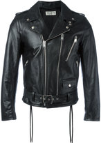 Saint Laurent signature motorcycle jacket