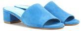 Maryam Nassir Zadeh Sophie Suede Slip-on Sandals