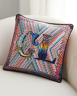 Christian Lacroix Monogram Me Lacroix Pillow