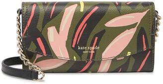 Kate Spade Leather Eva Modern Wallet Crossbody Bag