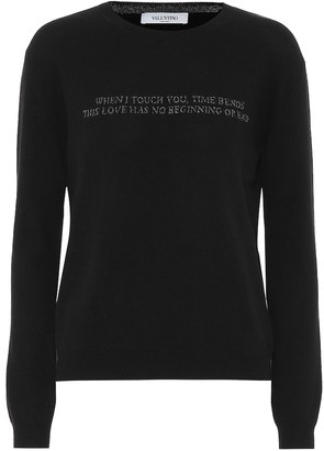 Valentino Exclusive to Mytheresa Wool and cashmere sweater