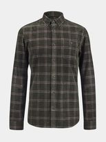 Burton Burton Green Long Sleeve Check Cord Shirt