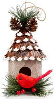 Holiday Lane Pinecone Bird House Ornament