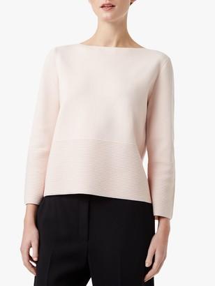 Hobbs Logan Sweatshirt, Pale Pink