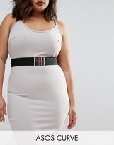 Asos Black Elastic Waist Belt