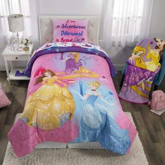 Princess Disney Kids Bedding Bed in a Bag Set, Ready to Explore