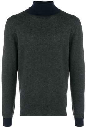 Altea two-tone turtleneck sweater