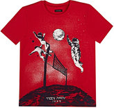 Ikks Glow-In-The-Dark Astronaut-Print T-Shirt