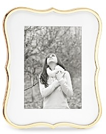 Kate Spade Crown Point Gold Frame, 5 x 7