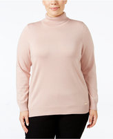 Calvin Klein Plus Size Turtleneck Sweater