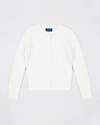 Polo Ralph Lauren Mini Cable Cardigan - Teen