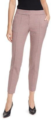 HUGO Hevas Check Crop Suit Pants