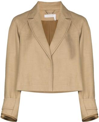 Chloé Cropped Blazer Jacket