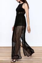 Flying Tomato Black Lace Dress