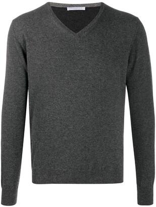 Cenere Gb V-neck cashmere jumper