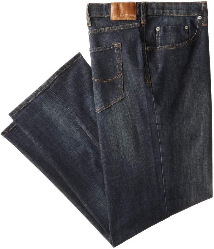 Lee Men's Big-Tall Modern Series Custom Fit Relaxed Straight Leg Jean