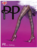Pretty Polly Cotton-Blend Web Tights